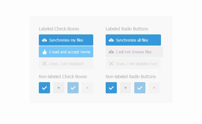 labelauty轻量级美化单选框jQuery插件 发布者: yecha