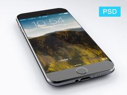 iPhone 6 模型psd文件