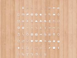 一套网页常用像素图标 发布者: majingxiang