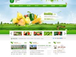 国内生态农业采摘园企业网站PSD 发布者: majingxiang